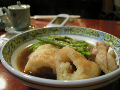 銀座秋田藩 きりたんぽ鍋